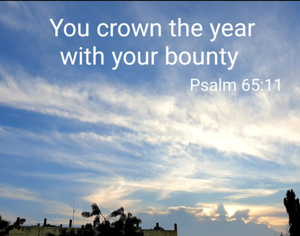 Happy New Year - Biblical Verse Calendar 2021